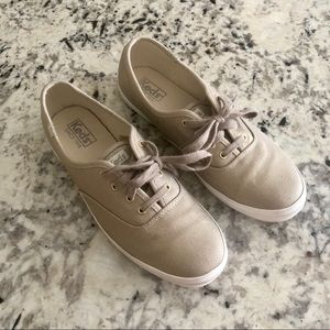 Keds Gold Shimmer Sneakers 10